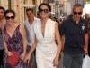 Maria Grazia Cucinotta veste Ferragamo