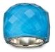 anello Swarovski nirvana flash blue