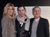 Filippa Lagerback, Roberto Amade e Massimo Rebecchi