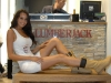 Loren Vickerers Miss Australia apertura store Lumberjack di Milano