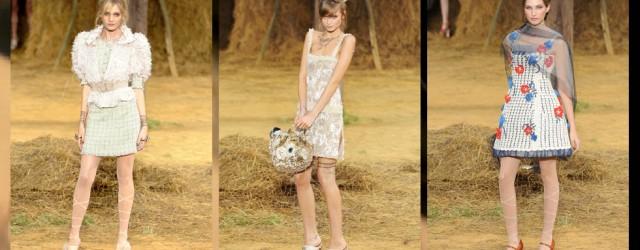 La contadina chic di Chanel