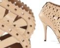Icone e le calzature in pizzo