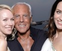 Un cocktail a Cannes con Giorgio Armani