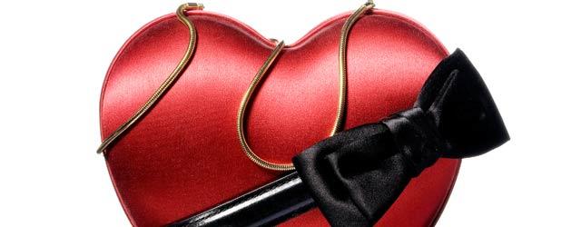Moschino e la borsa a cuore