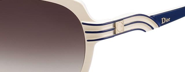 Gli occhiali da sole di Dior