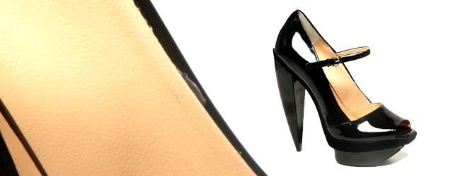 Le scarpe scultura di Pollini