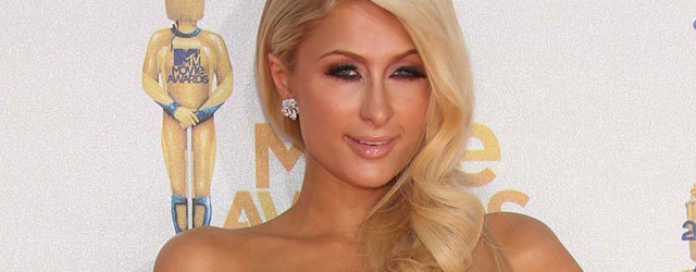 Paris Hilton in Blumarine