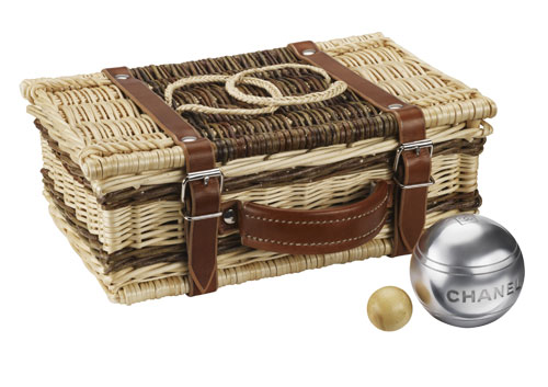 Set de petanque Bocce ball set Gucci