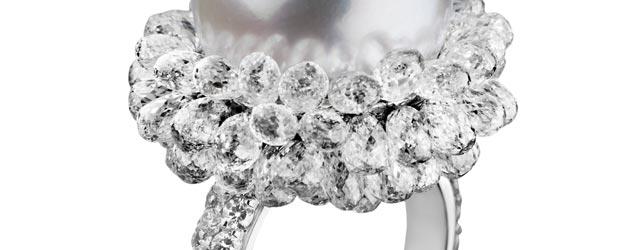 Spallanzani presenta l'anello Diamond Waterlily