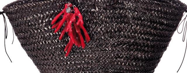 Le borse in paglia di Ottavia Failla