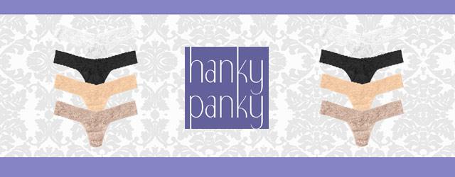 Hanky Panky non è un semplice slip