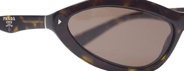 In anteprima i nuovi Prada Swing Sunglasses