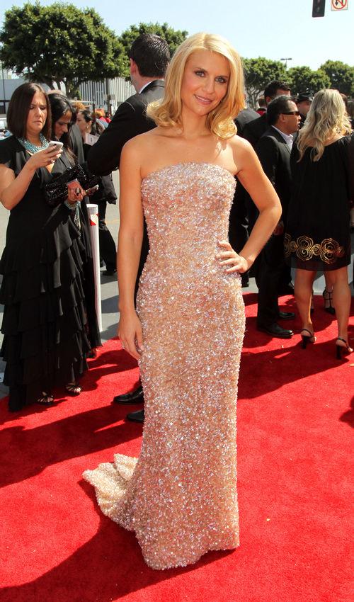 Giorgio Armani veste i Claire Danes agli Emmy Awards