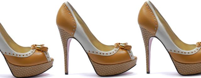Le vertiginose calzature di Luciano Padovan