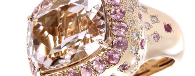 Gli anelli di MV Jewels: una romantica cornice di oro rosa