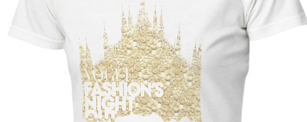 La t-shirt di Ermanno Scervino per Vogue Fashion's Night