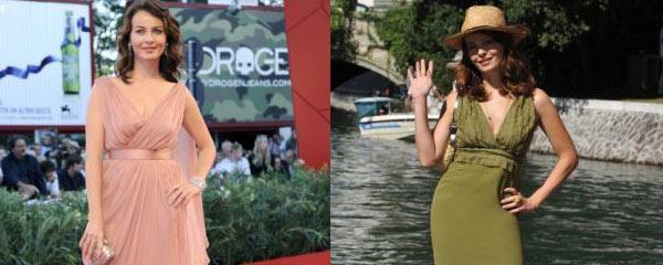 Le vip che hanno indossato abiti Alberta Ferretti a Venezia