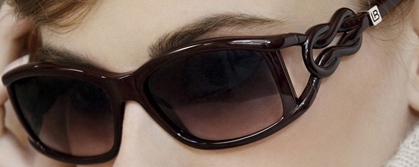 Laura Biagiotti presenta i suoi occhiali da sole