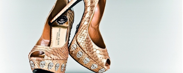 Le nuove calzature dell'estate 2011 di Philipp Plein