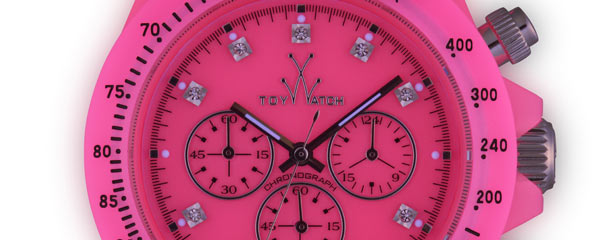 I colori fluo degli orologi Toy Watch