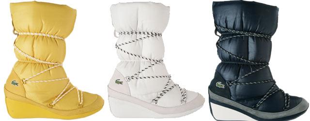 Lacoste presenta i suoi primi boots da sci