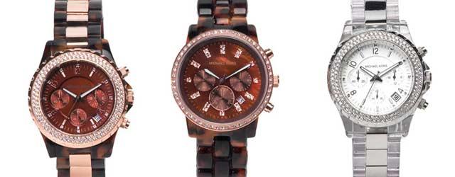 La nuova collezione di orologi Michael Kors