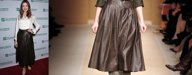 Anne Hathaway indossa Ferragamo