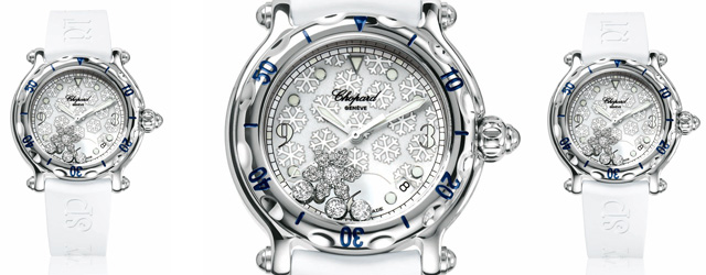 Chopard e l'orologio Happy Sport