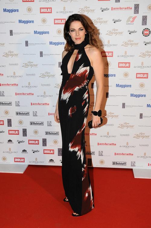 Claudia Gerini in Gucci