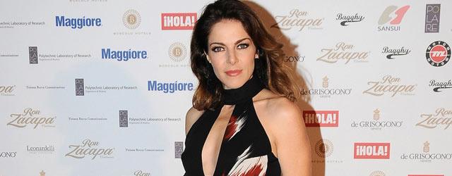 Claudia Gerini indossa Gucci