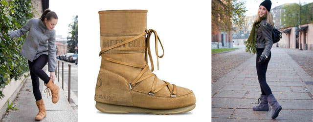 I nuovi Moon Boot per la città