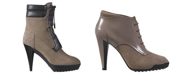 Tod's presenta le scarpe tronchetto iper-femminili