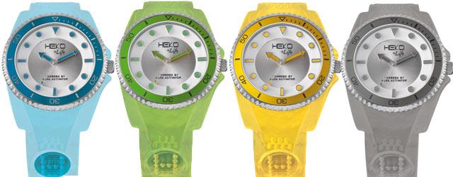 Heko+Life l'orologio del benessere