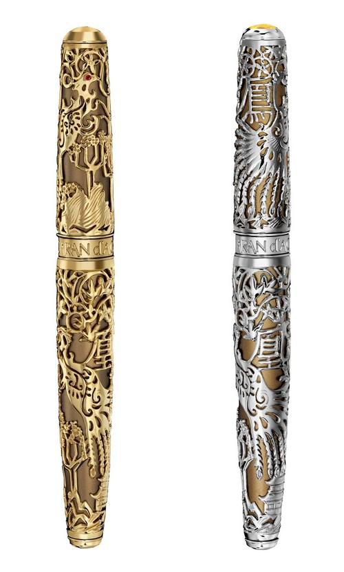 Caran d'Ache Phoenix argento e oro