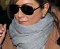 Jennifer Aniston e il cashmere Ferragamo