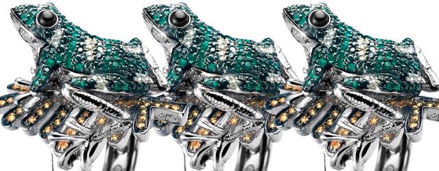 Gli animali incantati degli anelli di Oliver Weber