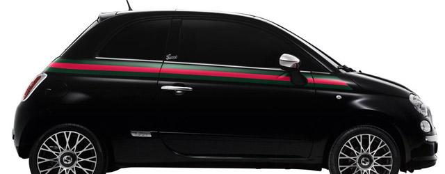 La FIAT 500 vestita da Gucci