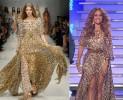 Jennifer Lopez e la stampa animalier di Blumarine