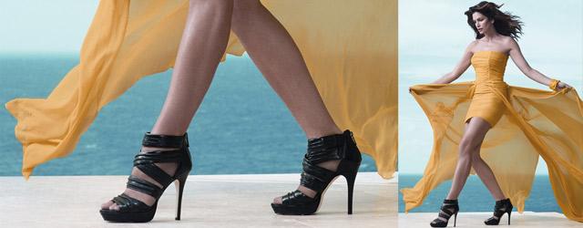 Deichmann calzature presenta la linea ideata da Cindy Crawford