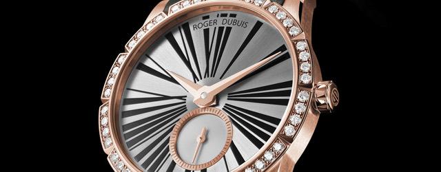 Le ore delle donne sono scandite da un orologio Roger Dubuis