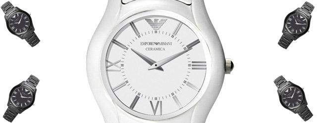 Emporio Armani presenta i nuovi orologi in ceramica