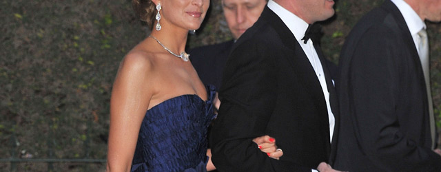 Giorgio Armani al matrimonio di William e Kate