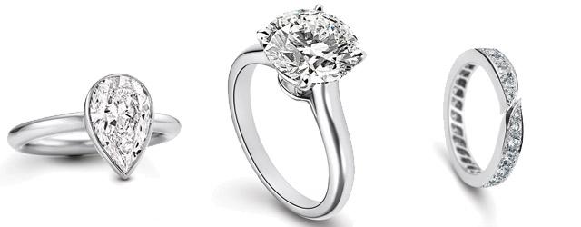 Gli anelli e i gioielli Platinum Soulmate