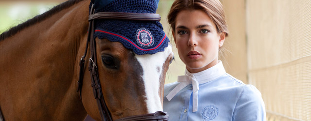 Charlotte Casiraghi testimonial di Gucci per la linea da equitazione