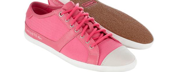 La nuova scarpa femminile di Lacoste