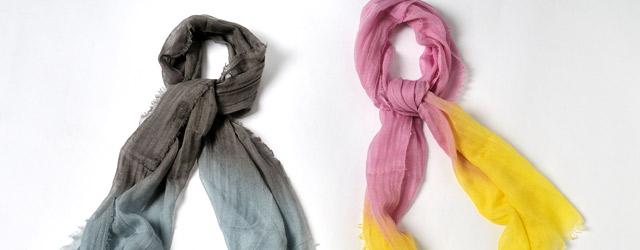 Cividini presenta la scarf in cachemiere e seta