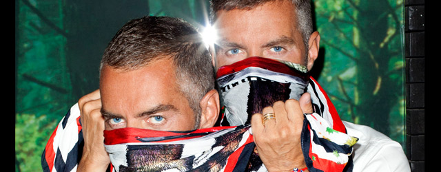 Dsquared² per la Milano Fashion's Night Out