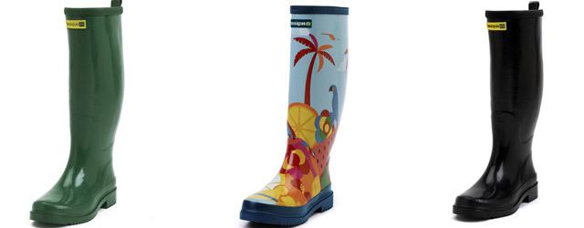 Havaianas porta allegria nei giorni di pioggia con i suoi Rain Boot super colorati