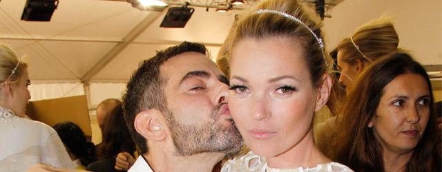 Il parterre della sfilata Louis Vuitton primavera/estate 2012