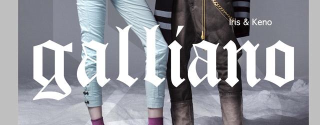 E' online il nuovo store di John Galliano